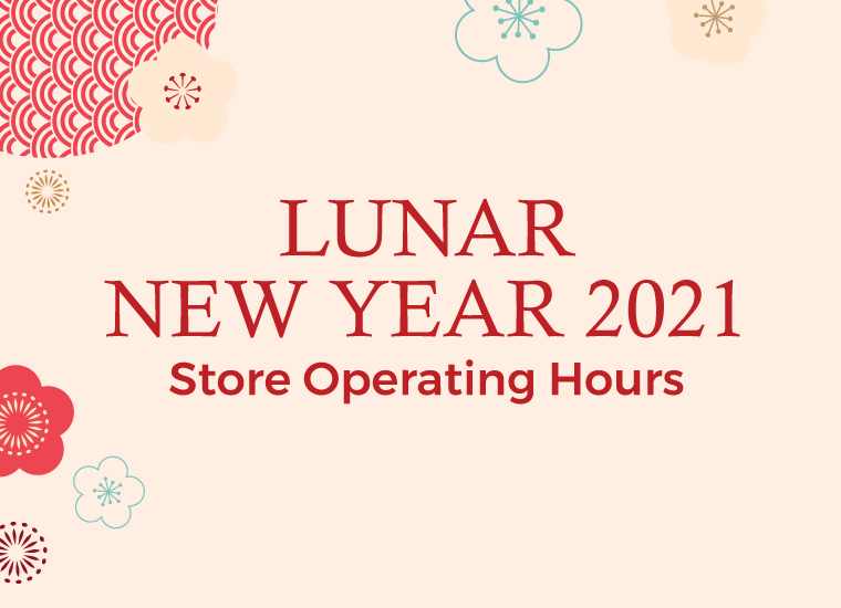 Lunar New Year Store Opening Hours
