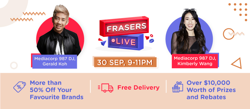 Frasers Live — Frasers Property Retail's First-Ever Facebook Live Shopping Event